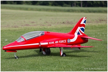 BAE Hawk 1:3.75 (50th Anniversary Scheme)